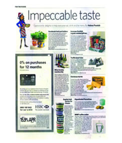 Article from The Independent praising the Inverawe Scottish Organic Smoked Gift Box