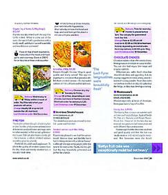 Which Magazine article praising Inverawe Smoked Salmon