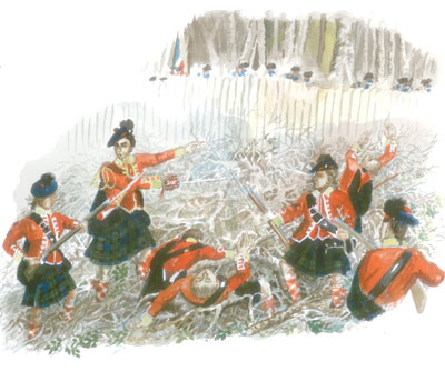 The British Army at Ticonderoga