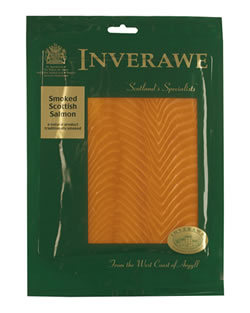 The Inverawe Smokehouse brand for Scottish smoked fish