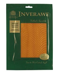 The Inverawe Smokehouse brand for Scottish smoked fish