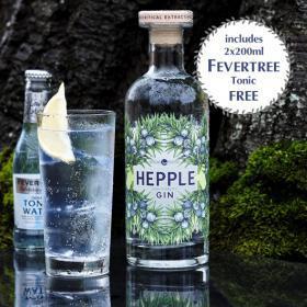Hepple Gin & FREE Tonic | Inverawe Smoked Salmon