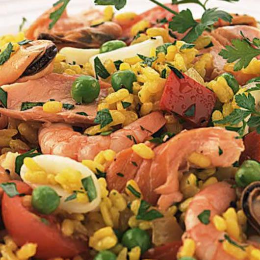Smoky Summer Paella