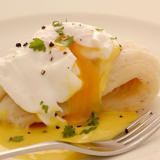 Smoked Haddock, a poached egg & easy hollandaise