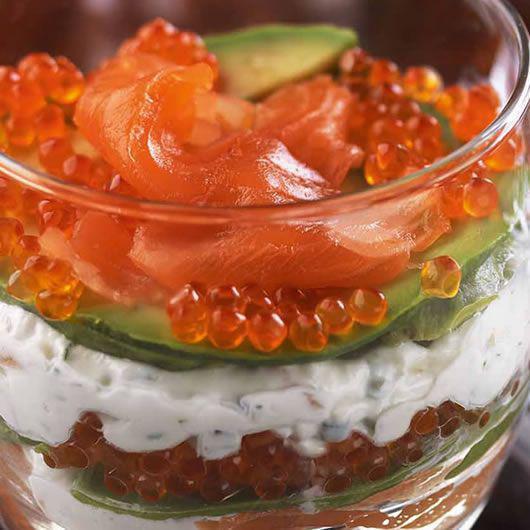 Smoked Salmon & Avocado Mousse