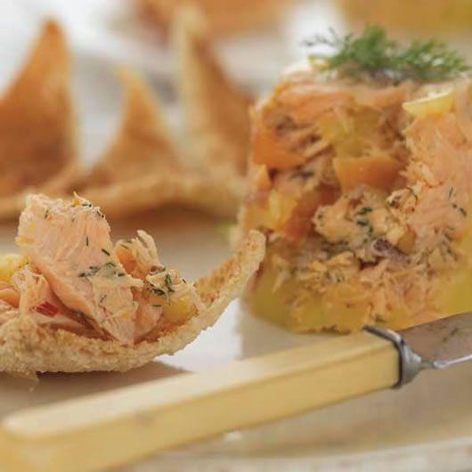 Potted Roast Smoked Salmon