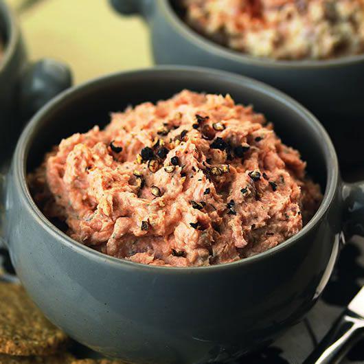 Roast Smoked Salmon Pâté